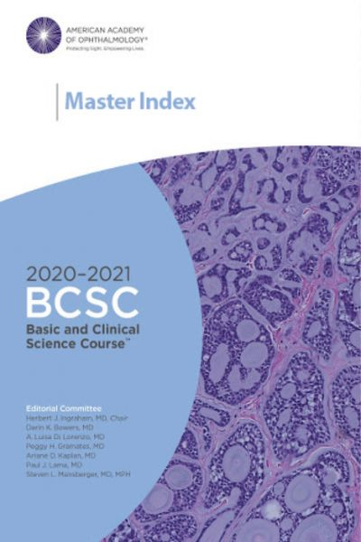 2020-2021 Basic and Clinical Science Course (BCSC), Complete Set